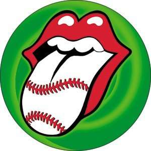 Rolling Stones Baseball Tongue Button B 3212 Toys & Games
