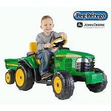 Peg Perego John Deere Turf Tractor With Trailer Explore