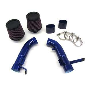 08 11 10 Infiniti G37 Coupe Short Ram Air Intake Kit Blue