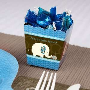 Elephant   Personalized Candy Boxes for Baby Showers