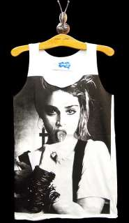MADONNA Lollipop 80s Pop Icon Rock Tank Top T Shirt S/M