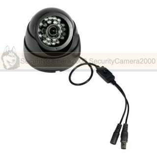 SONY CCD Camera, Indoor Dome Camera, 650TVL High Resolution, IR night