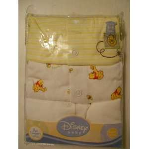 Baby Boy Girl Unisex Disney Winney the Pooh Sleepers (3 6 Month) Baby