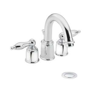 Moen T4945 Moen Villeta Chrome Bathroom Sink Faucet