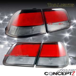 1997 1998 1999 NISSAN MAXIMA JDM RED SMOKE TAIL LIGHTS