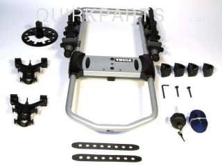 Jeep Wrangler or Liberty Spare Tire 2 Bike Thule Rack