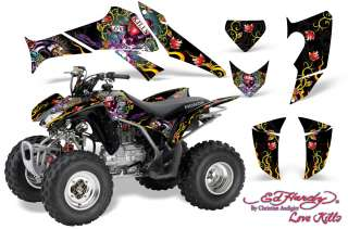 AMR RACING GRAPHIC HONDA TRX 250EX 250X DECAL KIT HARDY