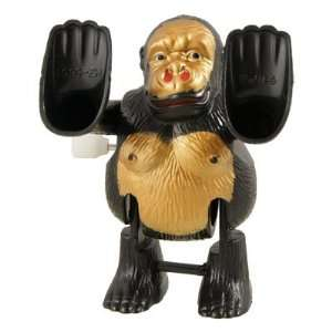 Children Black Plastic Wind up Tumbling Somersault Monkey Toy Baby