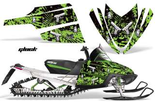 DECAL WRAP KIT M8 M7 ARCTIC CAT M SERIES CROSSFIRE GRAPHIC GLCK