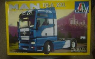 Italeri 3811 MAN TG A XXL Truck Model Kit 1/24