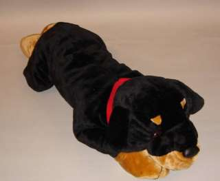 33 LARGE ROTTWEILER PUPPY ULTRA SOFT PLUSH STUF ANIMAL