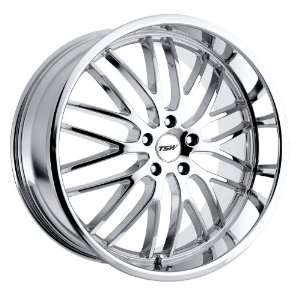 Snetterton (Chrome) Wheels/Rims 5x112 (2010SNT425112C72) Automotive