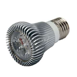 E27 6W 110 240V Aluminum Pure White High Power Spotlight LED Lamp