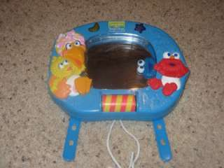 SESAME STREET Elmo Whos That Baby in the Mirror Crib Baby Infant