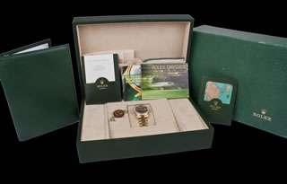 Rolex President Day Date 18238 FACTORY Diam Dial/Bezel Papers