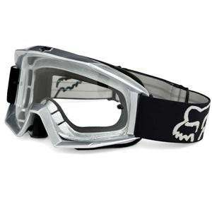 Fox Racing Main Goggles   Small/Black/Grey Automotive