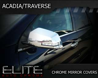 GMC Acadia/Traverse Chrome Mirror Covers 2007 2012