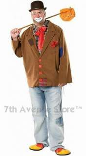 Harry the Hobo Clown Adult Men Circus Halloween Costume