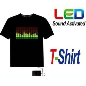 Sound Activated Light Up Flashing Rock Disco Equalizer EL