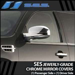 2007 2012 Cadillac Escalade SES Chrome Mirror Covers