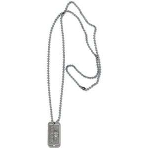Notre Dame Fighting Irish Mens Dog Tag Necklace Sports