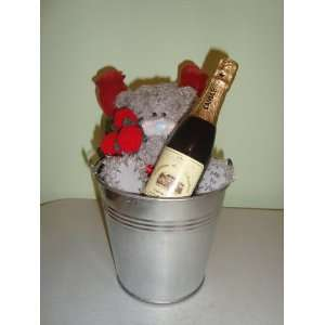 Champagne Love Bucket Wedding, Valentine, or Anytime Gift Package