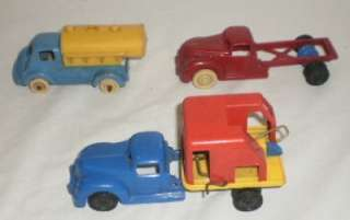 Banner Ideal Plastic Toy Trucks Cars Tractors Plane Train LOOK