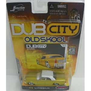 Jada Toys 1/64 Scale Diecast Dub City Old Skool Wave 1 1963 Lincoln No