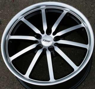 TSW SEPANG 18 BLACK RIMS WHEELS AUDI Q5