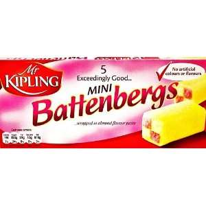 Mr Kipling Mini Battenberg Cake 5pk Grocery & Gourmet Food