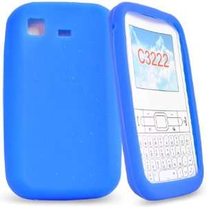 Mobile Palace   Blue silicone case cover pouch holster for samsung