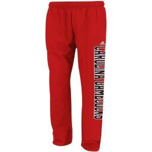 NCAA adidas South Carolina Gamecocks Garnet Fleece Sweatpants