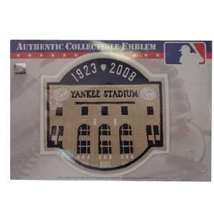The Emblem Source New York Yankees Yankee Stadium Final
