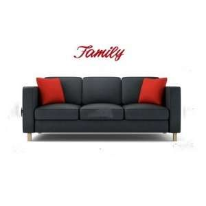 Family Vinyl Wall Decal Sticker Graphic Words