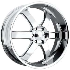 Boss 330 22x9 Chrome Wheel / Rim 6x135 with a 32mm Offset and a 108.20