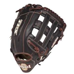 Slugger Omaha Pro Ball Glove (Brown, 13  Inch)