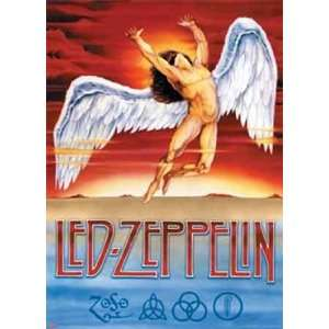 Led Zeppelin   Swan Song by Unknown 39x54 Kitchen