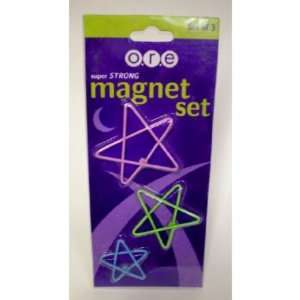 O.R.E. Super Strong Star Magnet Set Case Pack 24