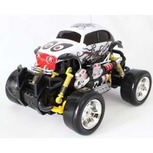Rc Truck, Remote Control Monster Truck with Extra Grip Tires and