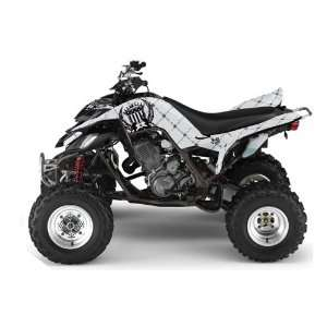 Yamaha Raptor 660 ATV Quad Graphic Kit   Reloaded Silver Automotive