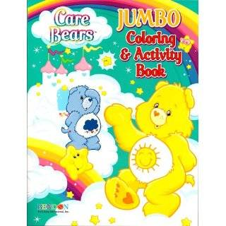 Care Bears Jumbo Coloring & Activity Book ~ Funshine and Grumpy (96
