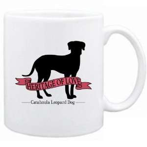Catahoula Leopard Dog  Heritage Of Love  Mug Dog