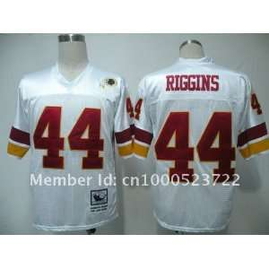 mix order washington redskins #44 john riggins 44 white