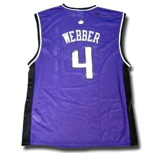 Chris Webber #4 Sacramento Kings NBA Replica Player Jersey