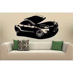 Wall Mural Vinyl Decal Sticker Car Peugeot RCZ S. 1882