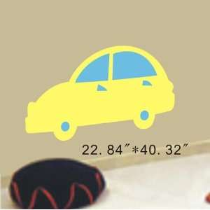 Large  Easy instant decoration wall sticker decor  Car