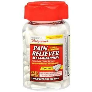 Pain Reliever/Fever Reducer Caplets, 150 ea