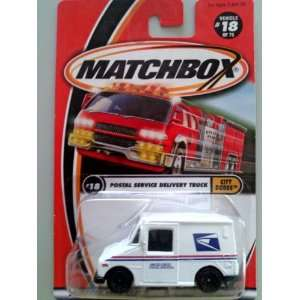 Matchbox Postal Service Delivery Truck Vehicle #18 of 75