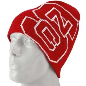 adidas North Carolina State Wolfpack Red Wordmark Knit