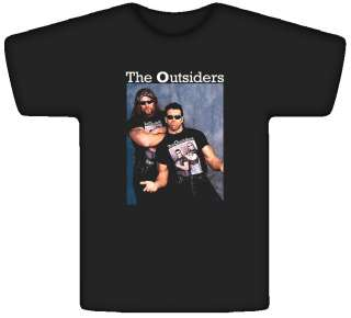 The Outsiders Scott Hall Kevin Nash T Shirt